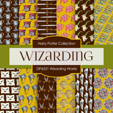 Wizarding World Digital Paper DP6533