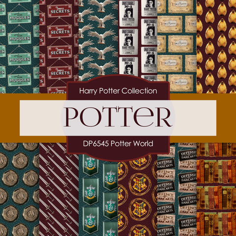 Poter World Digital Paper DP6545