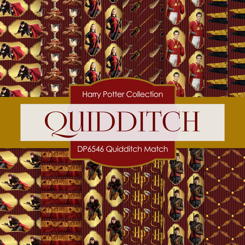 Quidditch Match Digital Paper DP6546