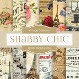 Shabby Chic Digital Paper DP681 - Digital Paper Shop - 1