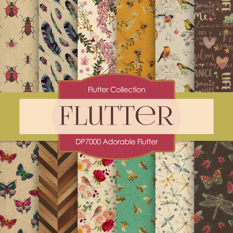 Adorable Flutter Digital Paper DP7000