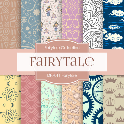 Fairytale Digital Paper DP7011