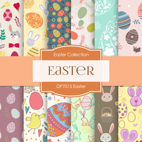 Easter Digital Paper DP7015