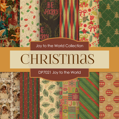 Joy to The World Digital Paper DP7021