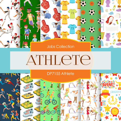 Athlete Digital Paper DP7155