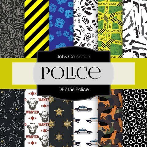 Police Digital Paper DP7156