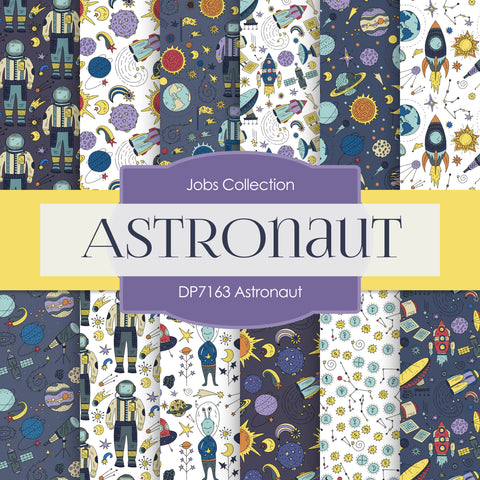 Astronaut Digital Paper DP7163