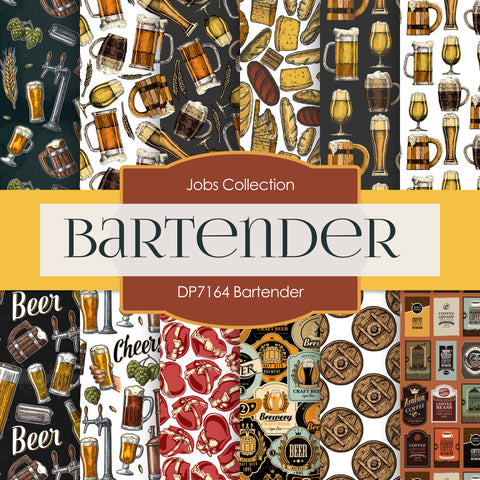 Bartender Digital Paper DP7164