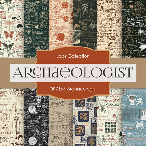 Archaeologist Digital Paper DP7165