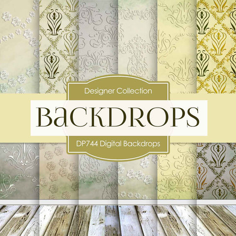 Digital Backdrops Digital Paper DP744 - Digital Paper Shop - 1