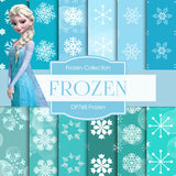 Frozen Digital Paper DP768 - Digital Paper Shop - 1