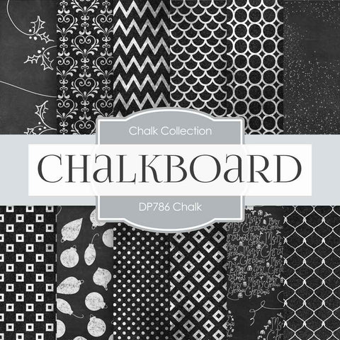 Chalk Digital Paper DP786 - Digital Paper Shop - 1