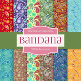 Bandana Digital Paper DP826A - Digital Paper Shop - 1