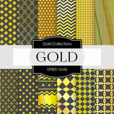 Gold Digital Paper DP831 - Digital Paper Shop - 1