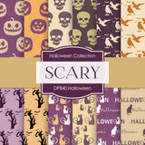 Halloween Digital Paper DP840 - Digital Paper Shop - 1