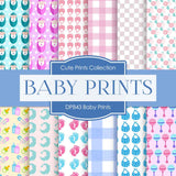 Baby Prints Digital Paper DP843 - Digital Paper Shop - 1