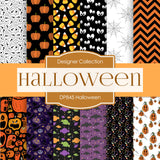 Halloween Digital Paper DP845 - Digital Paper Shop - 1