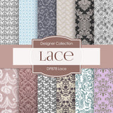 Lace Digital Paper DP878 - Digital Paper Shop - 1