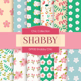 Shabby Chic Digital Paper DP950 - Digital Paper Shop - 1