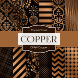 Copper Digital Paper DP969 - Digital Paper Shop - 1