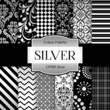 Silver Digital Paper DP989 - Digital Paper Shop - 1