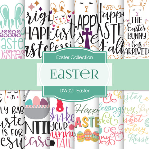 Easter Digital Paper DW021