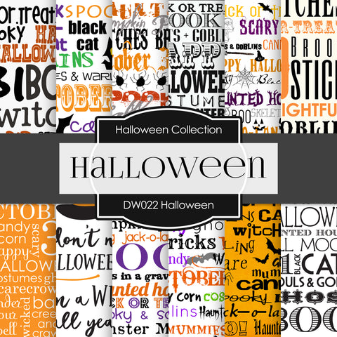 Halloween Digital Paper DW022