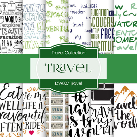 Travel Digital Paper DW027