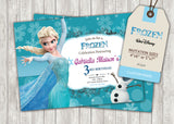 Frozen Greeting Card PC014 - Digital Paper Shop - 3