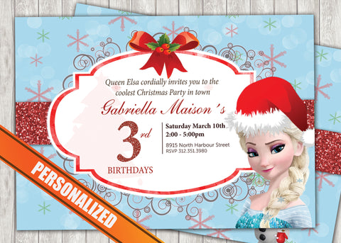 Frozen Greeting Card PC023 - Digital Paper Shop - 1
