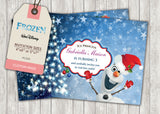 Frozen Greeting Card PC026 - Digital Paper Shop - 2