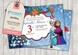 Frozen Greeting Card PC026 - Digital Paper Shop - 3