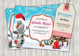 Frozen Greeting Card PC027 - Digital Paper Shop - 2