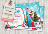 Frozen Greeting Card PC027 - Digital Paper Shop - 3