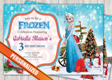 Frozen Greeting Card PC027 - Digital Paper Shop - 1