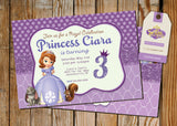 Princess Sofia Greeting Card PC038 - Digital Paper Shop - 3