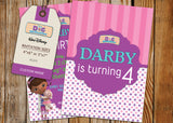Doc McStuffins Greeting Card PC071 - Digital Paper Shop - 3