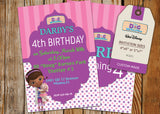 Doc McStuffins Greeting Card PC071 - Digital Paper Shop - 2