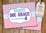 Doc McStuffins Greeting Card PC073 - Digital Paper Shop - 3