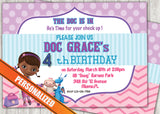 Doc McStuffins Greeting Card PC073 - Digital Paper Shop - 1
