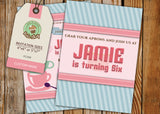 Bake Shop Greeting Card PC098 - Digital Paper Shop - 3