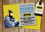 Batman Greeting Card PC119 - Digital Paper Shop - 2