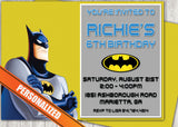 Batman Greeting Card PC119 - Digital Paper Shop - 1