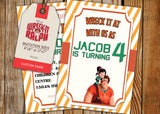 Wreck It Ralph Greeting Card PC134 - Digital Paper Shop - 3