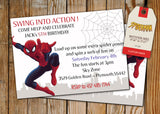 Spiderman Greeting Card PC138 - Digital Paper Shop - 2