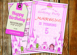 Birthday Greeting Card PC188 - Digital Paper Shop - 3