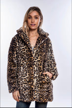 Load image into Gallery viewer, Animal Print Winter Coat