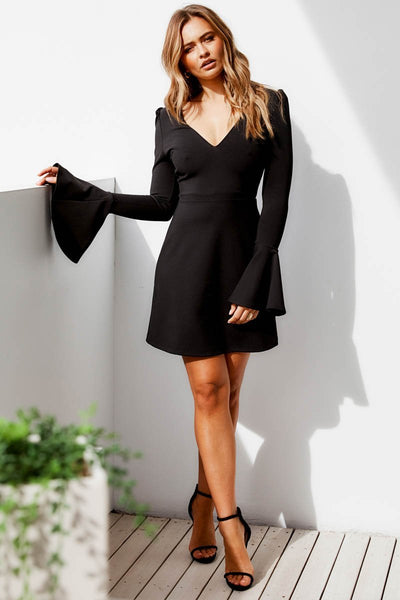 MIRACLE DRESS BLACK