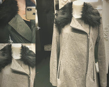 Load image into Gallery viewer, Grey Wool Jacket