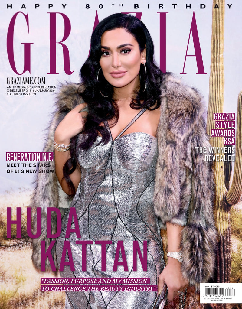 Grazia Middle East - January'19